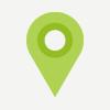 tárgyaló bérlés lokáció ikon