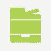 tárgyaló bérlés nyomtatás ikon